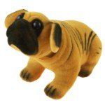 Lovely Nodding Shar-Pei Dog Air Freshener Gadget (Yellow)