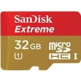 Sandisk 32GB Extreme MicroSDHC UHS-I Card (SDSDQXL-032G-A46A) (Color: One Color, Tamaño: One Size)