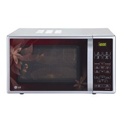 LG MC-2143BPP 21-Litre 800-Watt Convection Microwave Oven (Red Dancing Floral)