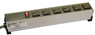 Hammond Manufacturing 1584H8A1 Strip, Power; 8; 6 ft. (Cord); CSA Certified and UL 1363 Listed; Metal; 6 ft.