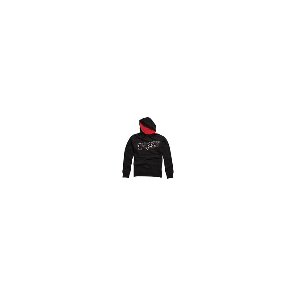 Fox Racing Yin Yang Fleece Pullover Hoodie   Large/Black