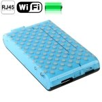 150Mbps Wireless WIFI 802.11b/g/n Router with Mobile Power Bank Function, Support 3G / AP / Multi-media Share (Blue)