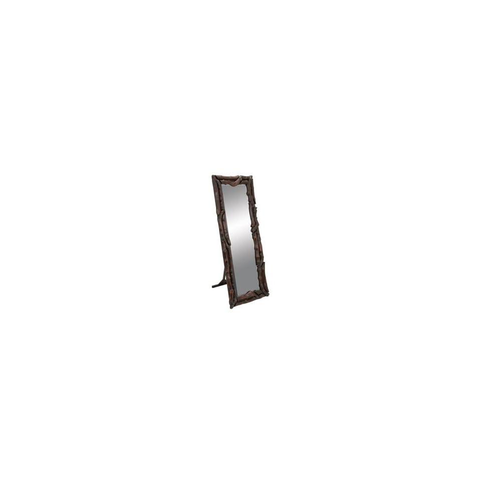 Extra Long Contemporary Silver Wall Mirror Full Length