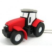 4GB Novelty Tractor USB Memory Stick 2.0 Flash Drive. PRESENTED IN A FREE METAL GIFT BOX from NUT