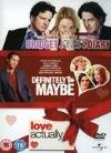 Love Actually/Definitely Maybe/Bridget Jones's Diary [DVD]