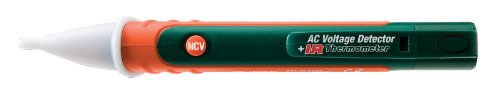 Extech Dv40 Non-Contact Ac Voltage Detector + Infrared Thermometer