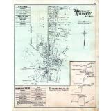 District 9, Waverly Plan, Harrisonville, Baltimore County 1877, M... Fine-Art Reproduction
