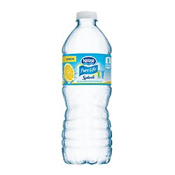 Nestle(R) Pure Life(Tm) Splash Lemon, 16.9 Oz. Bottles, 24 Bottles Per Case