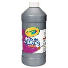* Artista II Washable Tempera Paint, Black, 32 oz