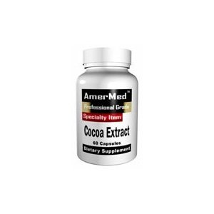 Cocoa Extract By Amermed - 120 Capsules