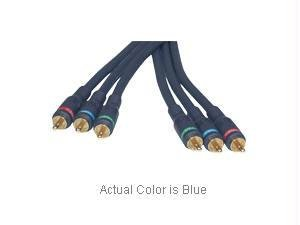 Cables To Go - 40009 - 1.5ft Velocity Component Video Cable (Blue)
