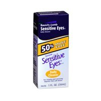 Bausch & Lomb Sensitive Eyes Daily Cleaner, 1-Ounce Bottles