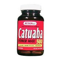 Catuaba Power Max By Action Labs - 60 Capsules, 4 Pack