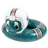 "Miami Dolphins 24"" Toddler Mascot Pool Float/Inner Tube - NFL Football"