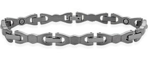 7mm Designer Magnetic Titanium Men's Bracelet