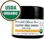 Herbal Choice Mari Organic Day Cream - Sweet Orange 50ml/ 1.7oz Jar