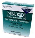 Mens Minoxidil 2% Regular Strength Hair Regrowth