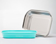 Kangovou Stainless Steel Flat Plate (Iced Mint)