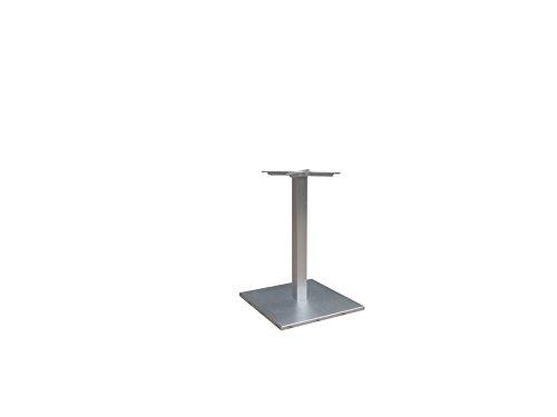 Tischgestell-Aluminium-Edelstahllook-mit-viereckigem-Grundgestell