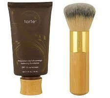 Best Cheap Deal for tarte Amazonian Clay Full-Coverage Foundation SPF 15 w/Brush by Jubujub - Free 2 Day Shipping Available