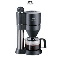Severin Cafe Caprice Coffee Maker With Glass Jug (Germany) Ka5700 Brushed Stainless Steel ...