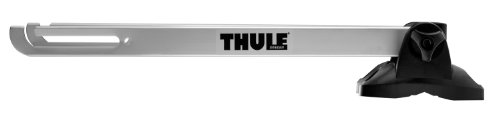 Thule 593 Wheel-On Rooftop Bicycle Wheel Carrier front-25596