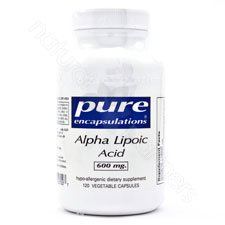 Pure Encapsulations Alpha Lipoic Acid 600 mg - 120 capsules