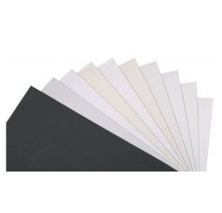 Alvin MAT166-1620-25 16 x 20 Dazzling White Mat Board - Box of 25