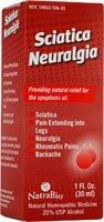 Sciatica/Neuralgia #506 Natra-Bio 1 oz Liquid