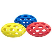 JW Pet Sphericon Rubber Dog Chew Toy