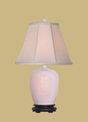 Bone China Ginger Jar Lamp Table Lamps
