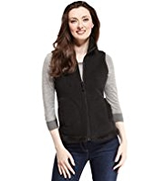 M&S Collection Bonded Fleece Gilet