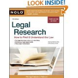 Legal Research: How to Find & Understand the Law by Stephen Elias Attorney and Editors Of Nolo (PAPERBACK)