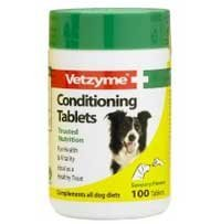 Vital Vetzyme Conditioning Tablet Treats 100 Tablets/Treats (Vetzyme Conditioning Tablets compare prices)