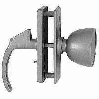 Stanley 748258 - Clear Coated Aluminum(AL) Screen Or Storm Door Knob Latch