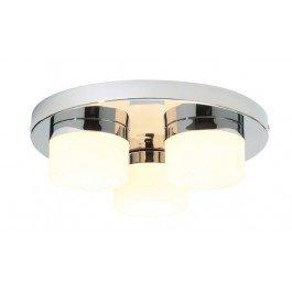 Searchlight Mars 3 Light Plate Bathroom Spot Light IP44 7213CC-LED Chrome Glass