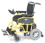 Wildcat Folding Power Wheelchair Yellow with 18″ Seat