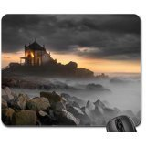 church-on-rocks-mouse-pad-mousepad-religious-mouse-pad