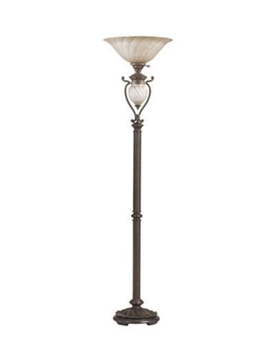 Ashley l531911 traditional floor lamp with night light for Best floor lamp for dark office