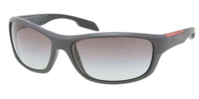 prada Prada Sport PS04NS Sunglasses-JAO/0A7 Gray Sand (Gray Gradient Lens)-65mm