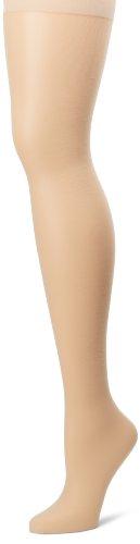 Hanes Silk Reflections Women's Plus-Size Control Top Enhanced Toe Pantyhose, Travel Buff, 1 Plus