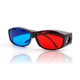 Fashion Chic Stereoscopic Video Myopia Film 3D Glasses