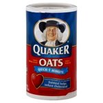 Quaker Quick Oats 500 g (3-Pack)