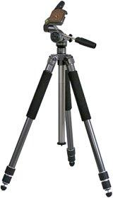 Soligor PT-180 Professionel mit 1/4 Stativgewinde mit 3-Wege-Panoramakopf variabel mit allen gängigen Camcorder + Kameras mit 1/4 Zoll Stativgewinde (passend z. B. zu Kameras Canon EOS 500D / EOS 7D / EOS 5D / EOS 1000D / EOS 450D / EOS 7D / EOS 50D, Nikon D90 / D5000 / D700 / D300 / D3000, Panasonic Lumix GH1 / G1, Pentax K-x, Olympus E-620, sowie Camcorder Canon Legria HF200 / HFS100 / HG20 / FS20, Sony HDR-XR520 / CX105 / TG7 / XR500 / HD1000 / CX505 / SX30, Panasonic HDC-TM350 / SD20 / SD10 / SD300 / HS300 / HS20, JVC GZ-MS120 / HM200, Toshiba Camileo S10 / H20
