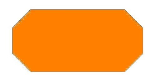 Haftetiketten handauszeichner pour 26 x 16 mm (orange 39.600...