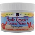 Nordic Omega-3 Gummy WormsTM