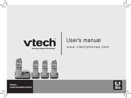 Vtech Cordless Phone Manual