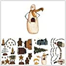 Magnificent Peel & Stick By RoomMates Country Holidays Wall Decals