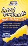 Acai Lemonade Sugar Free Drink Sticks 1.7 Oz Sticks 12 Sticks-2 Pack