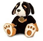 Keel Toys 25cm Forever Puppies Black Puppy